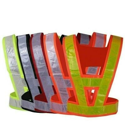 Reflective Vest Hi Vis Safety Waistcoat high Visibility Strip Traffic Security