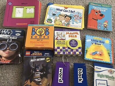 Huge Lot of Learn To Read Books- Readers, Phonics Sets, BOB Books, Sight Words