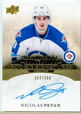 Nicolas Petan 2015-16 Exquisite Collection Signatures Rookie Auto/399 MHK10622