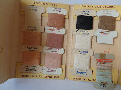 Vintage Glista Super Yarn Packet with Cottons/ Threads