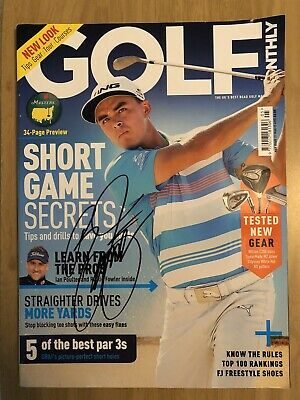 Rickie Fowler Signed Autographed Golf Monthly Magazine