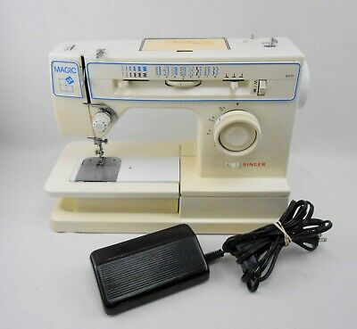 Singer Magic 34 8234 Sewing Machine Powers On, Parts/Repair See Description!