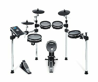 Alesis Drums Command Mesh Kit - Eight Piece Mesh Electric Drum Set with 600+ ...