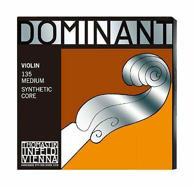 Thomastik 135 4/4 Violin Set Medium E String Steel/Aluminium Wound