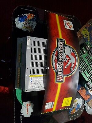 Konami JURASSIC PARK III VIPER SYSTEM ARCADE GAME  BOARD PCB with Marquee