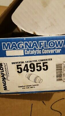 9/' MagnaFlow Exhaust Products 54955 Catalytic Converter Center Spun Ceramic