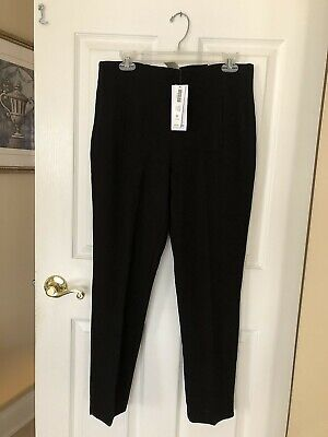 """NWT CHICO'S SIZE 1 x 28"""" Juliet Black So Slimming Ponte Ankle Pants MSRP $79.50"""