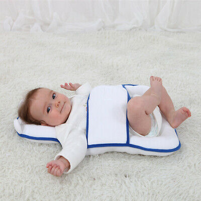 Baby Infant Newborn Head Shaping Pillow Anti-side Sleeping Prevent Flat Head SS3