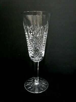 "Waterford Crystal CLARE Champagne Flute 7 3/8""  SS"