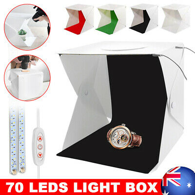 40CM Photo Box Dimmable 70 LED USB Light Photography Lighting Tent Studio New