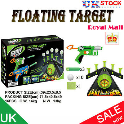 Floating Ball Shooting Game Air Hover Shot Floating Target Game for Fun Party UK