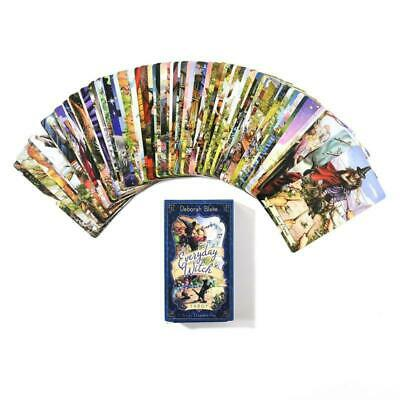 Everyday Witch Tarot 78 Cards Deck Divination Party Playing Card Board Game