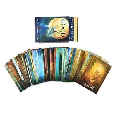 The Good Tarot 78 Card Deck Tarot Guidance Full English Fate Prophecy Divination