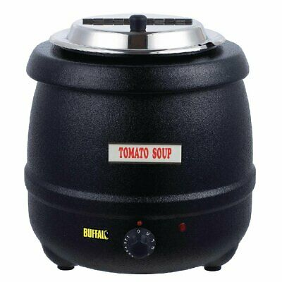 Buffalo Black Soup Kettle 10 Litres 2020 Improved Model