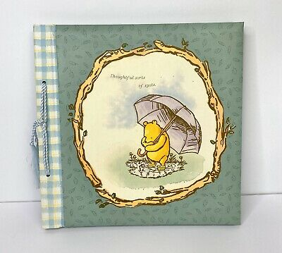 Classic Winnie the Pooh Keepsake Album Photo Record Book Unisex Green