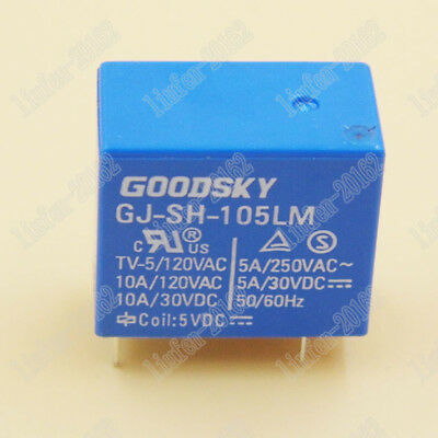 5PCS used Tyco Relay OJT-SS-105LM