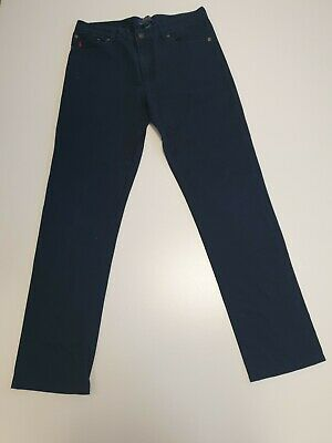 M531 Boys Polo Ralph Lauren Blue Skinny Denim Jeans Uk Age 18 W30 L29
