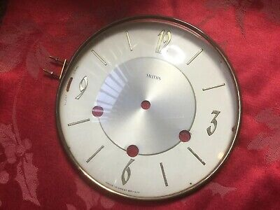 Smiths Clock Dial And Bezel With Convex Glass Good Glass
