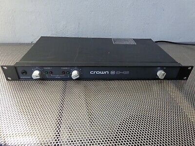 Crown D-45 Two Channel Professional Stereo Audio Power Amplifier