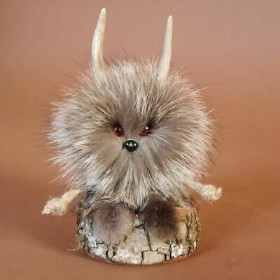 Wolpertinger Wolpi Mini Preparado Taxidermy con Ojos Regalo Gaudi Decoración