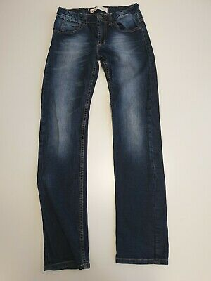 M551 Boys / Girls Levi Strauss 511 Slim Blue Adjustable Jeans Age 16 W30 L32
