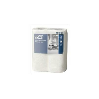 120269 Tork Kitchen Towels Extra Absorbent Recycled 2-ply White