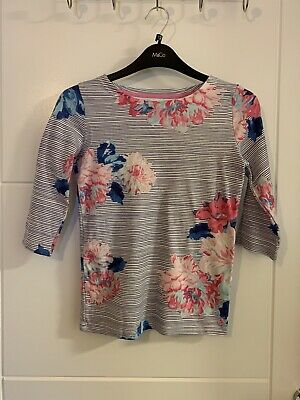 Girls Joules Floral Cotton Top 9 Years