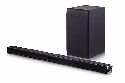 LG SH4 2.1 Channel 300W Sound Bar w/ Wireless Subwoofer & Bluetooth Connectivity