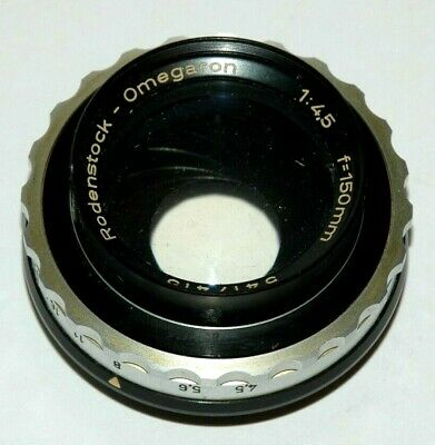 Rodenstock 150Mm Enlarging Lens--F/4.5