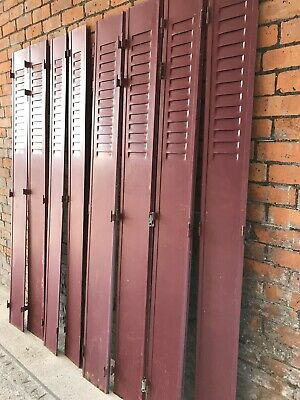 French Vintage Metal Shutters