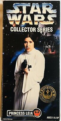 """Star Wars 1996 Collector Series PRINCESS LEIA 12"""" inch figure CARRIE FISHER"""