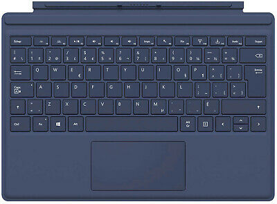Microsoft Surface Pro 4 Type Cover Keyboard French English Dark Blue QC7-00009