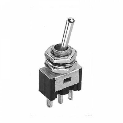 on -off- Centre Biased Off Model Railway 4065A ED03 on 4PDT Mini Toggle Switch