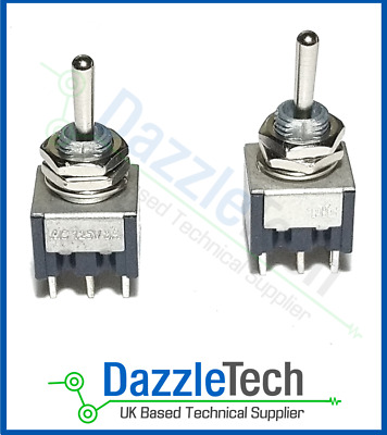 Miniature Toggle Switch DPDT on-on PIC industrial model and electronic 1 Switch