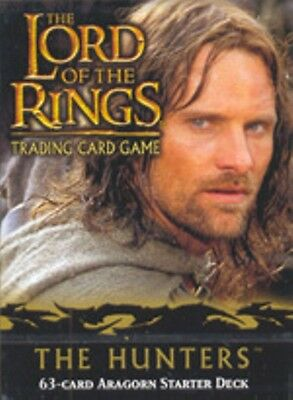 LORD OF THE RINGS TCG TWO TOWERS SEALED ARAGORN STARTER DECK