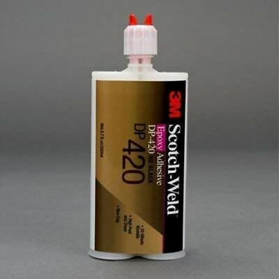 3M (DP420) Epoxy Adhesive DP420 Black, 400 mL [You are Purchasing The Min Order