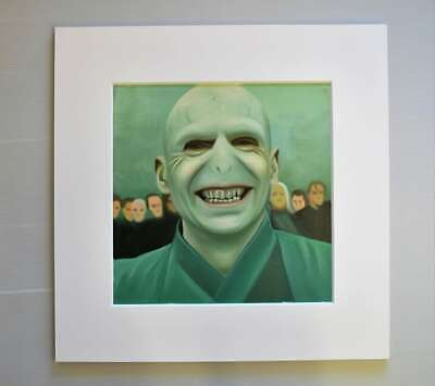 framing avail Harry Potter 20x14 oil painting NOT a print Dementor Voldemort