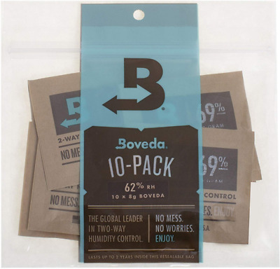 Boveda 8g 2-Way Humidity Control 49% 62% 69% or 72% Rh level (10/Pack)