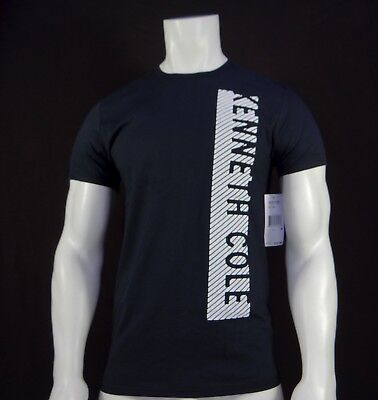 New Rnbr-9 Kenneth Cole 001 Black Sided Collection Mens Short Sleeve T-Shirt