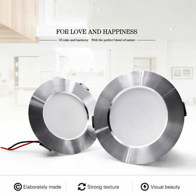 LED Aluminum Panel Downlight Dimmable Recessed Ceiling Light 5W 9W 12W 15W Lamp