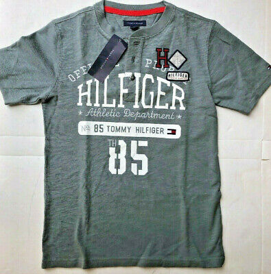 Tommy Hilfigure Buttoned T-Shirt Size 8-10