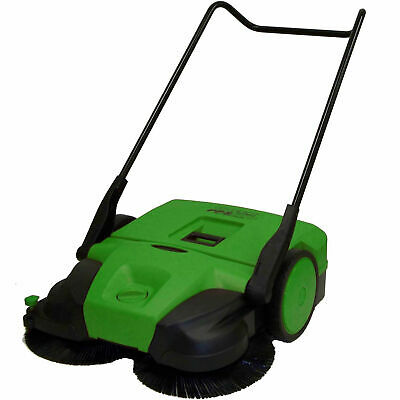"Bissell 31"" Deluxe Triple Brush Push Power Sweeper Turbo, 13.2 Gal. Capacity"