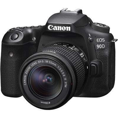 Canon EOS 90D DSLR Camera with 18-55mm Lens - 3616C009