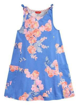 Joules Girls Madeline Dress in Blue Floral - BNWT - Age 7/8 - RRP £24.95