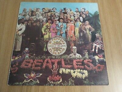 The Beatles - Sgt Pepper - Uk 1St Issue - Mono - -1/-1 - Very Good-(Minus)