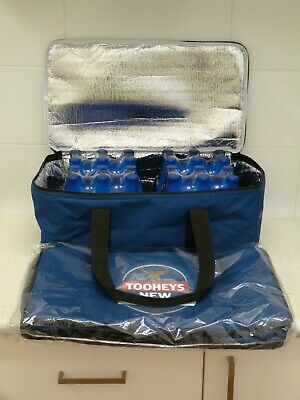 Tooheys New Supercold Beer Can / Stubbie Esky Cooler Bag for Carton / Case of 24