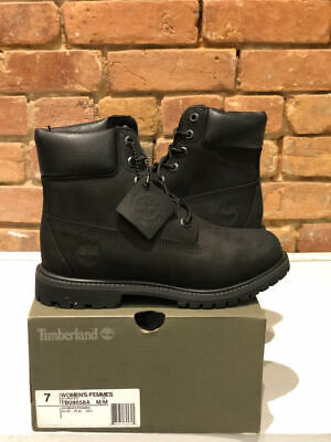 Timberland Boots 6 Inch Waterproof Color Black Women's Style Tb08658A