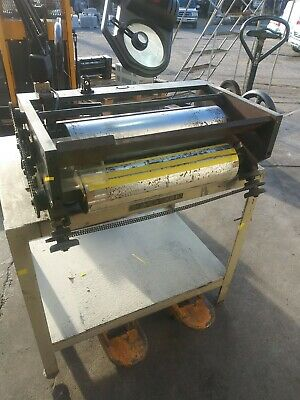 20 inch MossType Flexographic plate Proofed for pre-press plate verification