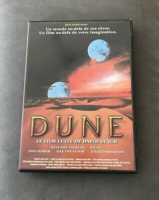 "dvd film science fiction "" Dune"" de David Lynch avec Sting"