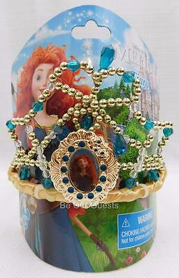 Disney Theme Parks Princess Merida Brave Costume Tiara Crown New
